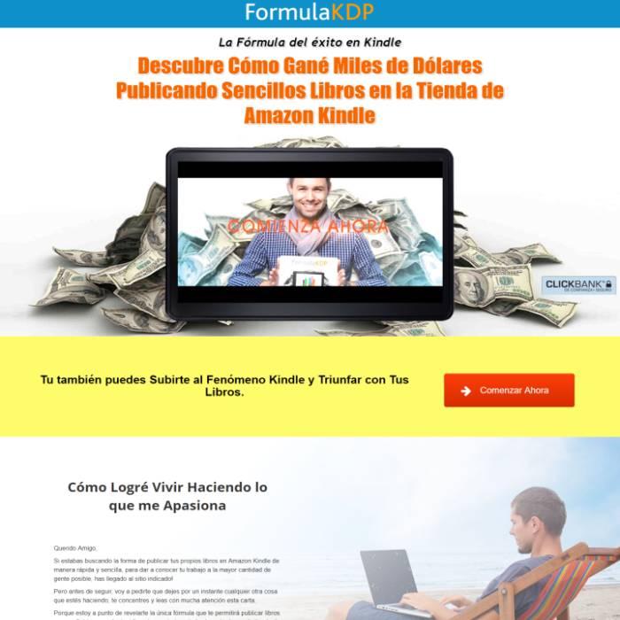 Formula KDP | Método para Ganar Dinero Publicando Libros en Amazon Kindle
