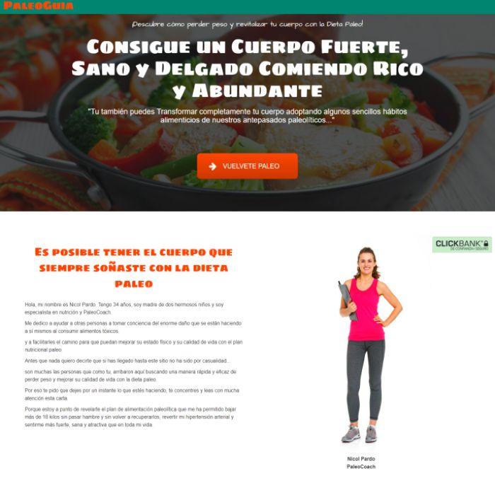 Paleo Guia | Método para Bajar de Peso con la famosa Dieta Paleo